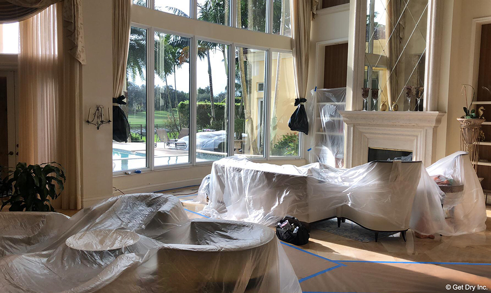 Water Damaged Palm Beach County Home